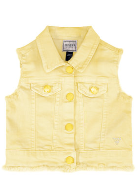 Guess Guess Gilet K02N01 WCTF0 Giallo Regular Fit