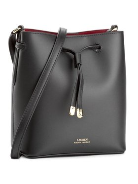 Lauren Ralph Lauren Lauren Ralph Lauren Дамска чанта Debby II 431670243001 Черен