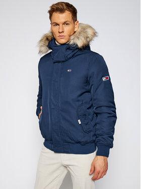 Tommy Jeans Tommy Jeans Zimní bunda Tech DM0DM08758 Tmavomodrá Regular Fit
