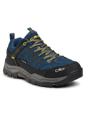 CMP CMP Παπούτσια πεζοπορίας Kids Rigel Low Trekking Shoes Wp 3Q13244J Σκούρο μπλε