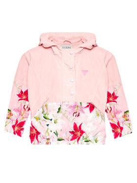 Guess Guess Átmeneti kabát J1RL02 WDM50 Rózsaszín Regular Fit