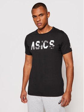 Asics Asics Тишърт Seasonal Logo Tee 2031C157 Черен Regular Fit