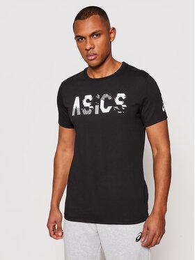 Asics Asics Tričko Seasonal Logo Tee 2031C157 Čierna Regular Fit