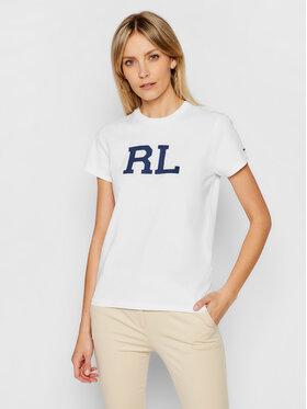 Polo Ralph Lauren Polo Ralph Lauren Tricou Ssl 211800248006 Alb Regular Fit