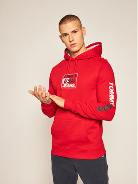 Tommy Jeans Tommy Jeans Μπλούζα Tjm Essential Graphic DM0DM08733 Κόκκινο Regular Fit