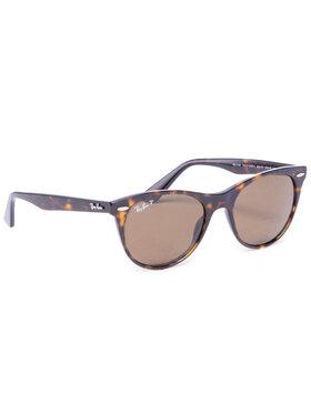 Ray-Ban Ray-Ban Слънчеви очила Wayfarer II 0RB2185 902/57 Кафяв