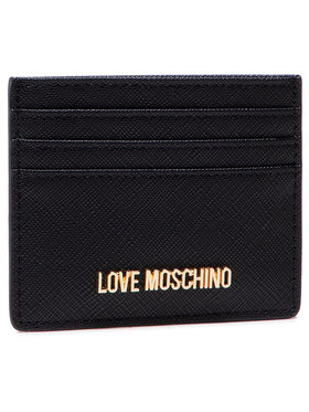 LOVE MOSCHINO LOVE MOSCHINO Калъф за кредитни карти JC5563PP0ALQ0000 Черен