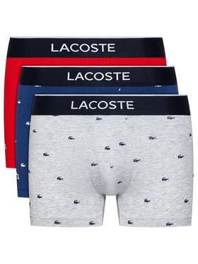 Lacoste Lacoste Set 3 perechi de boxeri 5H3411 Colorat