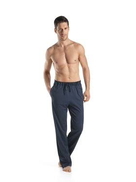 Hanro Hanro Pantaloni da tuta Night & Day 5435 Blu scuro Custom Fit