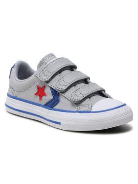 Converse Converse Sneakers aus Stoff Star Player 3V Ox 663601C Grau