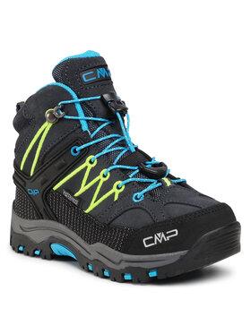 CMP CMP Παπούτσια πεζοπορίας Kids Rigel Mid Trekking Shoe Wp 3Q12944 Γκρι