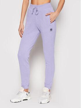 adidas adidas Spodnie dresowe Track GN4797 Fioletowy Slim Fit