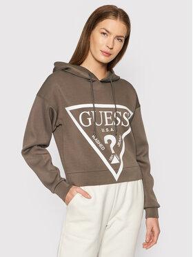 Guess Guess Sweatshirt Alisa O1GA29 KAMN2 Grau Comfort Fit
