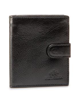 Wittchen Wittchen Veľká pánska peňaženka 21-1-010-10 Čierna