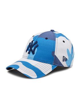 New Era New Era Șapcă New York Yankees Camo Pack Navy 9Forty 60137703 Albastru