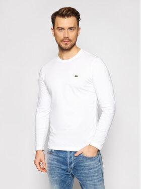 Lacoste Lacoste Marškinėliai ilgomis rankovėmis TH2040 Balta Regular Fit