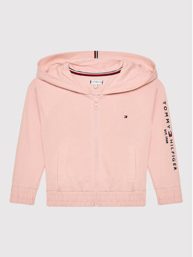 Tommy Hilfiger Tommy Hilfiger Bluza Essential KG0KG05675 M Różowy Regular Fit