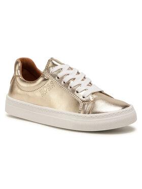 Boss Boss Sneakersy J19044 D Zlatá