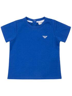 Emporio Armani Emporio Armani T-Shirt 8NHT05 4JFEZ 0945 Niebieski Regular Fit
