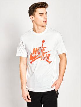 Nike Nike T-Shirt Jordan Classics BV5905 Biały Standard Fit