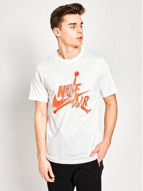 Nike Nike Тишърт Jordan Classics BV5905 Бял Standard Fit