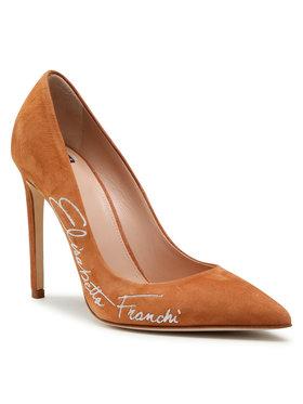 Elisabetta Franchi Elisabetta Franchi Pantofi cu toc subțire SA-45F-11E2-V320 Maro