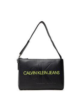 Calvin Klein Jeans Calvin Klein Jeans Kabelka Sculpted Shoulder Pouch Mono K60K608689 Černá