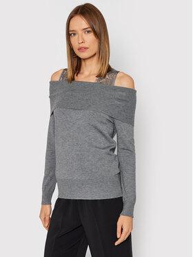 Liu Jo Liu Jo Set majica i džemper CF1159 MA75L Siva Regular Fit