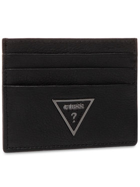 Guess Guess Калъф за кредитни карти King Slg SM2685 LEA38 Черен