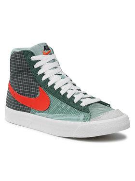 Nike Nike Buty Blazer MId '77 DD1162 300 Zielony