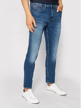 Tommy Jeans Tommy Jeans Blugi Austin DM0DM09550 Albastru Slim Fit