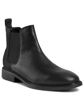 G-Star RAW G-Star RAW Kotníková obuv s elastickým prvkem Vetar Chelsea Boot D16046-8690-990 Černá