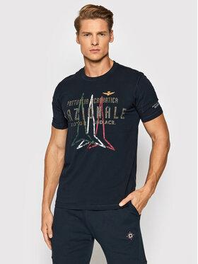 Aeronautica Militare Aeronautica Militare T-shirt 212TS1899J507 Bleu marine Regular Fit