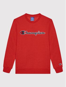 Champion Champion Bluza Chinese Red Crewneck 305766 Czerwony Regular Fit