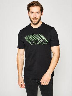 Diesel Diesel T-Shirt T-Just-T20 00SEG2 0091A Černá Regular Fit