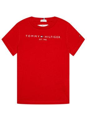 Tommy Hilfiger Tommy Hilfiger Tricou Essential KS0KS00210 Roșu Regular Fit
