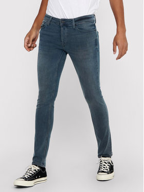 Only & Sons ONLY & SONS Traperice Loom 22017090 Siva Slim Fit