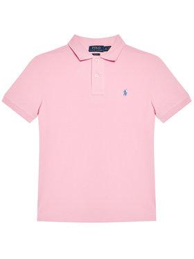 Polo Ralph Lauren Polo Ralph Lauren Polo Custom 323547926013 Ροζ Slim Fit