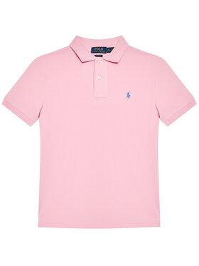 Polo Ralph Lauren Polo Ralph Lauren Polo Custom 323547926013 Różowy Slim Fit