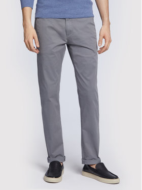 Vistula Vistula Pantaloni chino Cortado XA0341 Gri Regular Fit