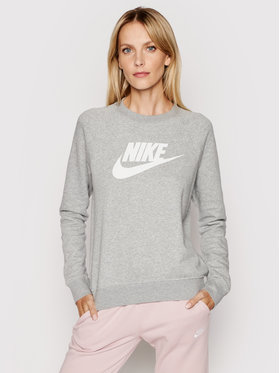 Nike Nike Mikina Essential Crew BV4112 Sivá Standard Fit