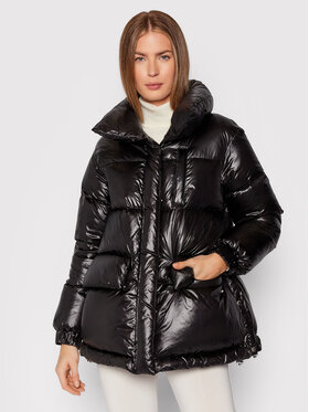Woolrich Woolrich Pernata jakna Aliquippa CFWWOU0583FRUT1702 Crna Regular Fit