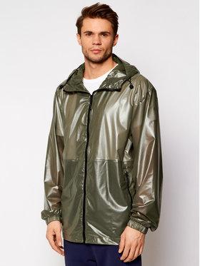 Rains Rains Kurtka przeciwdeszczowa Unisex 1843 Zielony Casual Fit