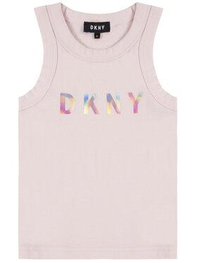 DKNY DKNY Top D35Q48 M Różowy Regular Fit
