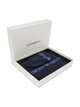 Emporio Armani Emporio Armani Set berretto e sciarpa 628005 CC983 00035 Blu scuro
