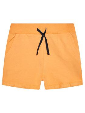 NAME IT NAME IT Szorty sportowe 13161636 Pomarańczowy Regular Fit