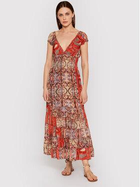 Iconique Iconique Letní šaty Shirley IC21 125 Barevná Regular Fit