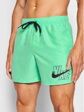 Nike Nike Plavecké šortky Logo Lap 5 NESSA566 Zelená Standard Fit