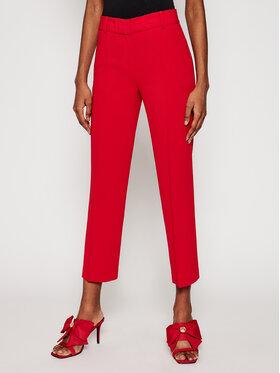 MICHAEL Michael Kors MICHAEL Michael Kors Spodnie materiałowe MF03HE3ENX Czerwony Regular Fit