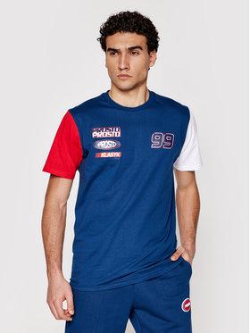 PROSTO. PROSTO. T-Shirt KLASYK Xenon 1031 Granatowy Regular Fit